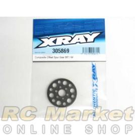 XRAY 305869 T4 Composite Offset Spur Gear 99T/64