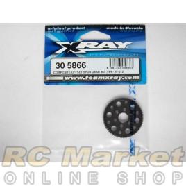 XRAY 305866 T4 Composite Offset Spur Gear 96T / 64