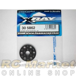 XRAY 305862 T4 Composite Offset Spur Gear 92T / 64