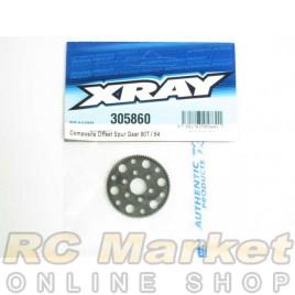 XRAY 305860 T4 Composite Offset Spur Gear 90T / 64