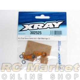 XRAY 302525 T4 Alu Dual Servo Saver Arm + Ball-Bearings (2)