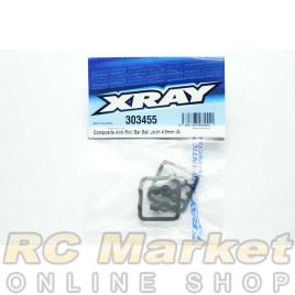 XRAY 303455 T4 Composite Anti-Roll Bar Ball Joint 4.9mm (4)