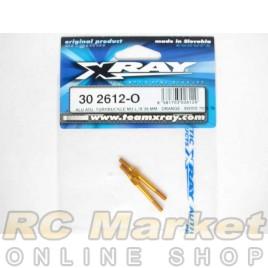 XRAY 302612-O T4 Alu Adjustable Turnbuckle 39mm M3 L/R - Orange (2)