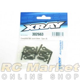 XRAY 302663 T4 Ball Joint 4.9mm - Open - V2 (8)