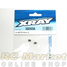 XRAY 302656 XB2 Alu Ball End 4.9mm (2)