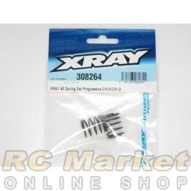 XRAY 308264 4S Spring Set Progressive C=2.5-2.8 (2)