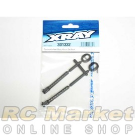 XRAY 301332 T4 Rear Body Mount Set 6mm