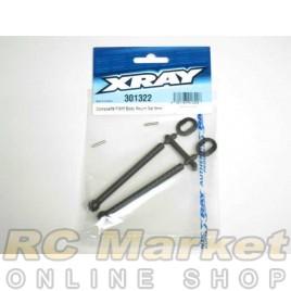 XRAY 301322 T4 Front Body Mount Set 6mm