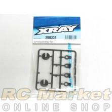 XRAY 308334 T4'18 ULP Composite Shock Parts
