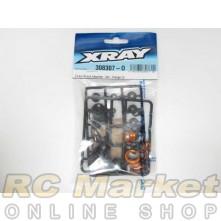 XRAY 308307-O T4 Alu Shock Absorber - Set - Orange (2)