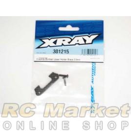 XRAY 301215 T4 Graphite Bumper Upper Holder Brace 3.5mm