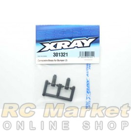 XRAY 301321 Composite Brace for Bumper (2)
