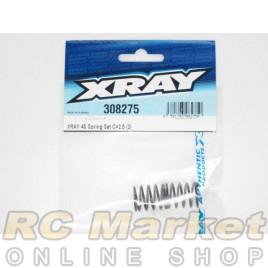 XRAY 308275 4S Spring-Set C=2.5 (2)