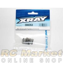 XRAY 308263 4S Spring Set Progressive C=2.3-2.6 (2)