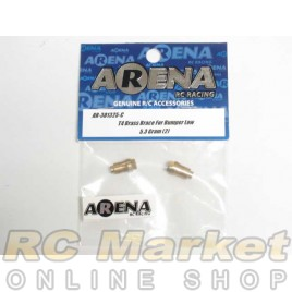 ARENA 301325-C T4 Brass Brace For Bumper Low 5.3 Gram (2)