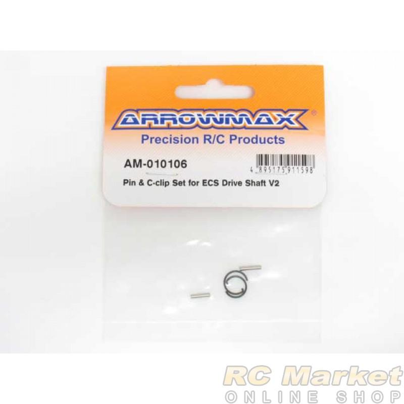 ARROWMAX 010106 Pin & C-Clip Set For Ecs Drive Shaft V2