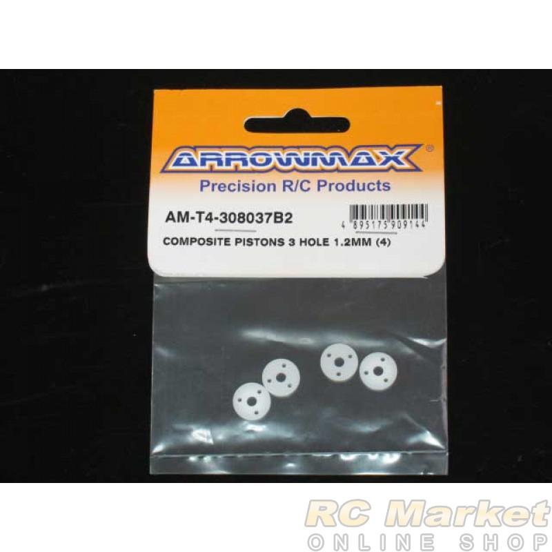ARROWMAX T4-308037B2 Composite Pistons 3 Hole 1.2mm (4)