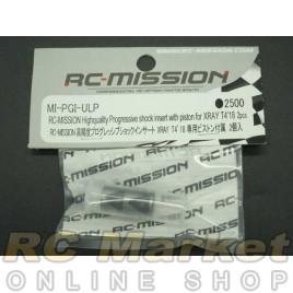 RC MISSION MI-PGI-ULP High Quality Progressive Shock Insert For T4'18 With Piston 2pcs