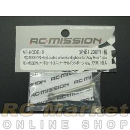 RC MISSION MI-HCDB-X Hard Coated Universal Dogbone For Xray Rear 1 Pc
