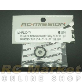 RC MISSION MI-PL20-T4 Aluminum Center Pulley 20T For T4