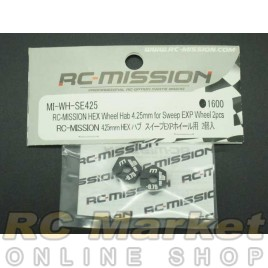 RC MISSION MI-WH-SE425 Hex Wheel Hub 4.25mm For Sweep Exp And Volante Wheel 2pcs