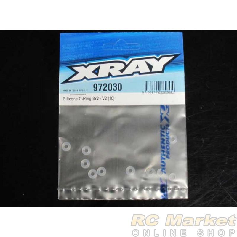 XRAY 972030 Silicone O-Ring 3x2 (10) V2