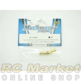 MUCH MORE 5mm to 4mm Euro Connector Conversion Bullet Reducer 2pcs