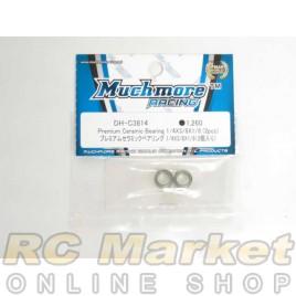 MUCH MORE DH-C3814 Premium Ceramic Bearing 1/4x3/8x1/8 (2pcs)