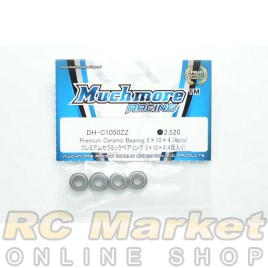 MUCH MORE DH-C1050ZZ Premium Ceramic Bearing 5×10×4 (4pcs)