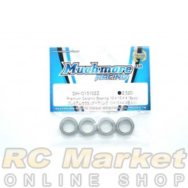 MUCH MORE DH-C1510ZZ Premium Ceramic Bearing 10×15×4 (4pcs)