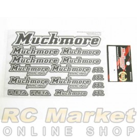 MUCH MORE MR-D18 Racing Color Decal Black