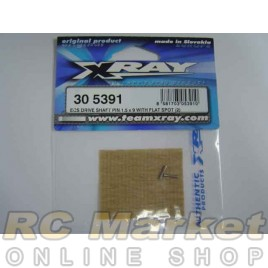 XRAY 305391 T4 ECS Drive Shaft Pin 1.5 x 9 (2)