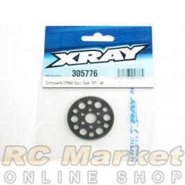 XRAY 305776 T4 Composite Offset Spur Gear 76T / 48