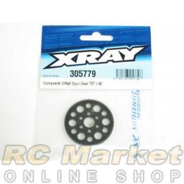 XRAY 305779 T4 Composite Offset Spur Gear 79T / 48