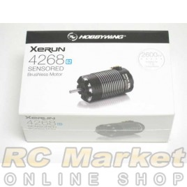 HOBBYWING Xerun 4268 Sensored Brushless Motor G2 2600KV