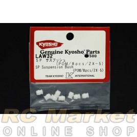 KYOSHO LAW32 SP Suspension Bush (POM / 8 pcs / ZX-5)