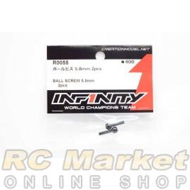 INFINITY R0055 IF18 Ball Screw 5.8mm 2pcs
