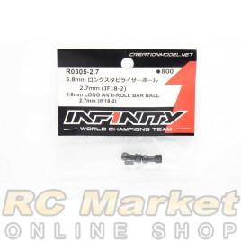INFINITY R0305-2.7 IF18-2 5.8mm Long Anti-Roll Bar Ball 2.7mm