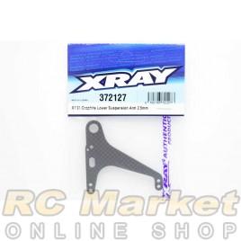 XRAY 372127 X1'21 Graphite Lower Suspension Arm 2.5mm