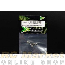 XCEED 103320 Screw Titanium CS Allen M3x5 (10)
