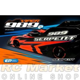 SERPENT 904005 Viper 989E 4wd 1/8 EP (Pre-order) (Free Shipping)