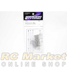 MUGEN SEIKI A2815 MTC2 Titanium Screw Set (Top)