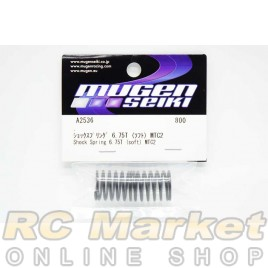 MUGEN SEIKI A2536 MTC2 Shock Spring 6.75T (Soft)