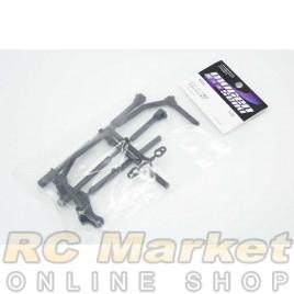 MUGEN SEIKI A2416 MTC2 Bumper + Parts