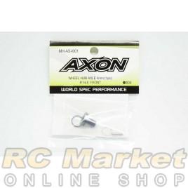AXON MH-AS-I001 Wheel Hub Axle 4mm (1 pic) IF14-II Front