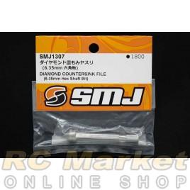 SMJ SMJ1307 Diamond Countersink File (6.35 mm Hex Shaft Bit)