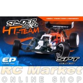 SERPENT 500009 Spyder SRX2 HT TEAM 1/10 2wd (Free Shipping)