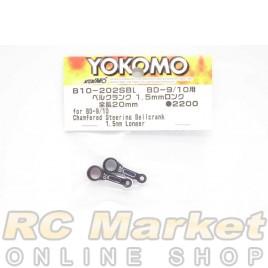 YOKOMO B10-202SBL Chamfered Steering Bellcrank 1.5mm Longer for BD-9/10