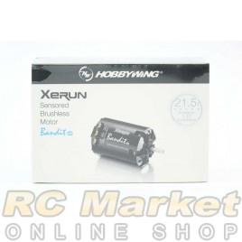 HOBBYWING 30401856 XERUN Sensored Brushless Motor BANDIT 21.5T Black G2R (Free Air Parcel)