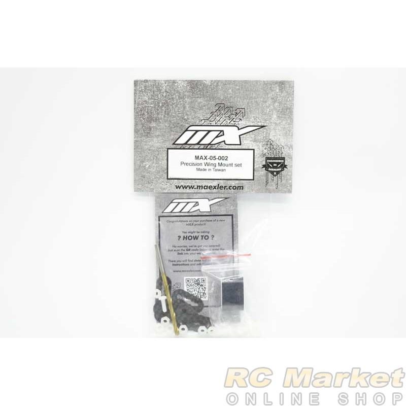 MXLR MAX-05-002 Precision Wing Mount Set